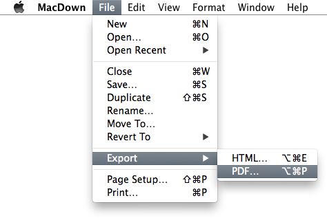 MacDown 0 2 3: PDF and Printing — MacDown: The open source Markdown